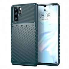 Thunder Case Flexible Tough Rugged Cover TPU Case for Huawei P30 Pro green (jgn95) (HWP30P)