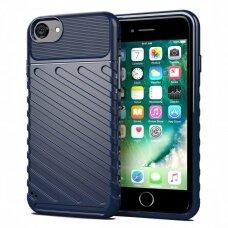 Thunder Case Flexible Tough Rugged Cover TPU Case for Iphone SE 2020 / Iphone 8 / Iphone SE 2020 / Iphone 7 blue (vaz09) (IPO78)