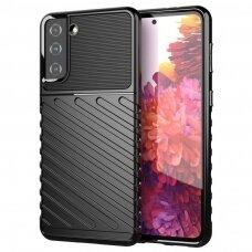 Thunder Case Flexible Tough Rugged Cover TPU Case for Samsung Galaxy S21+ 5G (S21 Plus 5G) black