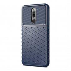 Thunder Case Flexible Tough Rugged Cover TPU Case for Xiaomi Redmi 8 blue (jfe91) (XIRM8)