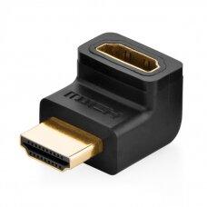 Ugreen HDMI up angle adapter black (20110) (hutl)