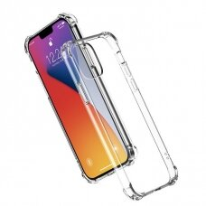 Ugreen Protective Silicone Case Soft Flexible Rubber Cover for iPhone 12 Pro / iPhone 12 transparent