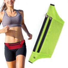 Ultimate Running Belt with headphone outlet  green (hutl)