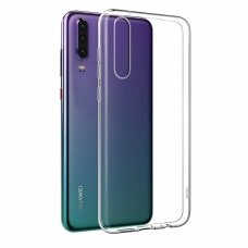 Ultra Clear 0.5mm Case Gel TPU Cover for Huawei P30 transparent (aeq46) (HUWP30)