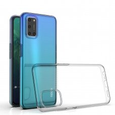 Ultra Clear 0.5mm Case Gel TPU Cover for Oppo A92 / A72 / A52 transparent