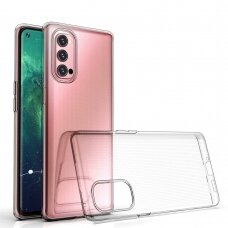 Ultra Clear 0.5mm Case Gel TPU Cover for Oppo Reno 4 Pro 5G transparent