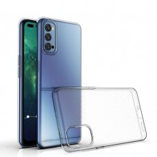 Ultra Clear 0.5mm Case Gel TPU Cover for Oppo Reno 4 transparent
