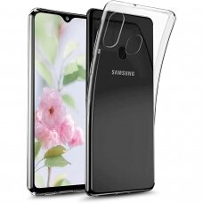 Ultra Clear 0.5mm Case Gel TPU Cover for Samsung Galaxy A20s transparent