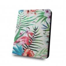 "Universal l case for tablet Flamingo 9-10"""