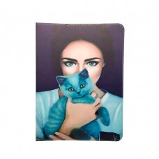 """Universal l case for tablet Lady with cat 9-10"""""""