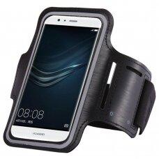 "Universal Running Armband for 6"" Smartphones black"