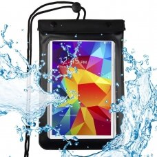"""Universal Waterproof Case Pouch Dry Bag for Phone or Tablet up to 8"""" black (HUTL) (hutl)"""