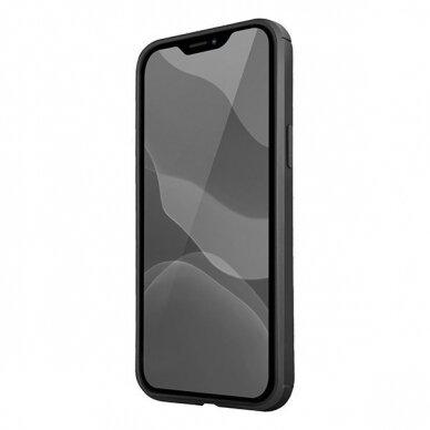 UNIQ Hexa etui na iPhone 12 Pro / iPhone 12 czarny 3