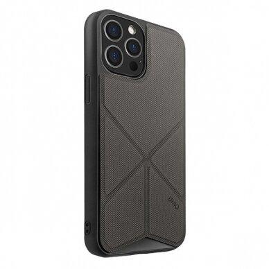 UNIQ Transforma etui na iPhone 12 Pro / iPhone 12 szary 2