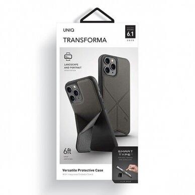 UNIQ Transforma etui na iPhone 12 Pro / iPhone 12 szary 7
