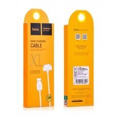 USB cable Hoco X1 iPhone Pin 30 1.0m white