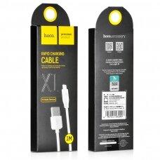 USB cable Hoco X1 Lightning 1.0m white