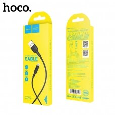 USB cable Hoco X25 Lightning 1.0m black