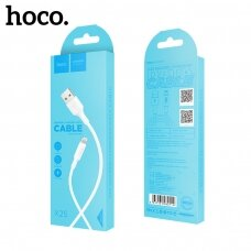 USB cable Hoco X25 Lightning 1.0m white