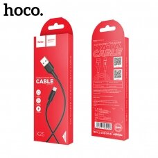 USB cable Hoco X25 Type-C 1.0m black