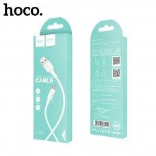 USB cable Hoco X25 Type-C 1.0m white