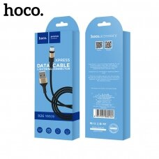 USB cable Hoco X26 Lightning 1.0m black-gold