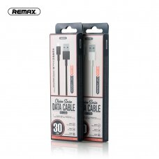 USB cable Remax FastCharging RC-120m microUSB 2.1A black 0.3m
