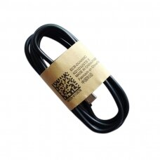 USB cable Type-C 9mm black HQ 1.0m
