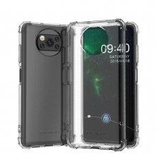 Wozinsky Anti Shock durable case with Military Grade Protection for Xiaomi Poco X3 NFC / Poco X3 Pro transparent