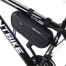 Wozinsky bicycle bag for the bicycle frame 1.5 L black (WBB10BK)