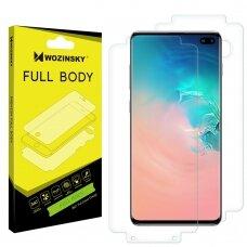 Wozinsky Full Body hydrogel Self-Repair 360° Full Coverage Screen Protector Film for Samsung Galaxy S10 Plus - Indisplay Fingerprint Compatible (SAS10P)