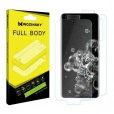 Wozinsky Full Body Self-Repair 360° Full Coverage Screen Protector Film for Samsung Galaxy S20 Ultra