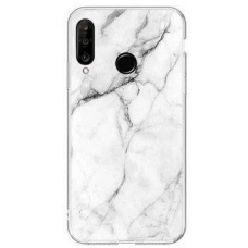 Wozinsky Marble TPU case cover for Huawei P30 Lite white (ijg49) (HUP30LT)
