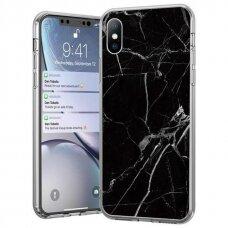 Wozinsky Marble TPU case cover for Samsung Galaxy M51 black