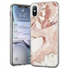 Wozinsky Marble TPU case cover for Samsung Galaxy M51 pink