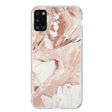 Wozinsky Marble TPU case cover for Samsung Galaxy S20 FE 5G pink
