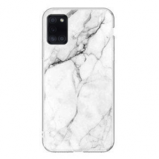 Wozinsky Marble TPU case cover for Samsung Galaxy S20 FE 5G white