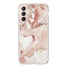 Wozinsky Marble TPU case cover for Samsung Galaxy S21+ 5G (S21 Plus 5G) pink