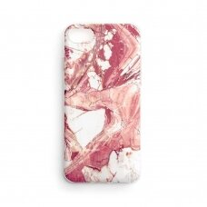 Wozinsky Marble TPU case cover for Xiaomi Mi Note 10 Lite pink
