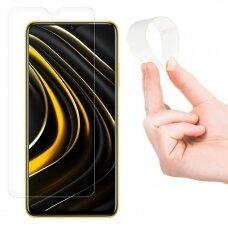 Wozinsky Nano Flexi Glass Hybrid Screen Protector Tempered Glass for Xiaomi Poco M3 / Xiaomi Redmi 9T