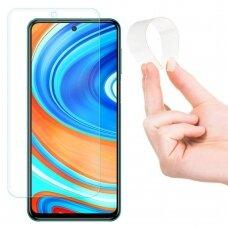 Wozinsky Nano Flexi Glass Hybrid Screen Protector Tempered Glass for Xiaomi Redmi Note 9 Pro / Redmi Note 9S / Poco X3 NFC / Poco X3 Pro