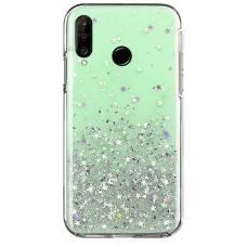Wozinsky Star Glitter Shining Cover for Huawei P30 Lite green