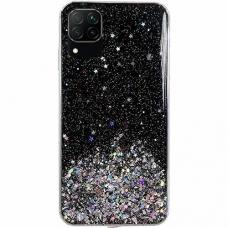 Wozinsky Star Glitter Shining Cover for Samsung Galaxy A42 5G black