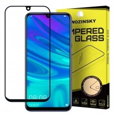 Wozinsky Tempered Glass Full Glue Screen Protector Full with Frame Case Friendly for Huawei P Smart Plus 2019 / P Smart 2019 black (poe48) (HPSM19)