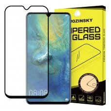 Wozinsky Tempered Glass Full Glue Super Tough Screen Protector Full Coveraged with Frame Case Friendly for Huawei Mate 20 black (nfe42) (HWM20)