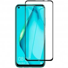 Wozinsky Tempered Glass Full Glue Super Tough Screen Protector Full Coveraged with Frame Case Friendly for Huawei P40 Lite E black (HWP40LT)