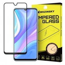 Wozinsky Tempered Glass Full Glue Super Tough Screen Protector Full Coveraged with Frame Case Friendly for Huawei P40 Lite / Nova 7i / Nova 6 SE black (HWP40LT)