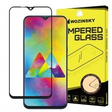 Wozinsky Tempered Glass Full Glue Super Tough Screen Protector Full Coveraged with Frame Case Friendly for Samsung Galaxy M10 black (gng56) (hutl)