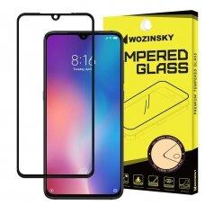 Wozinsky Tempered Glass Full Glue Super Tough Screen Protector Full Coveraged with Frame Case Friendly for Xiaomi Mi A3 / Xiaomi Mi CC9e black (ple33) (XMIA3)