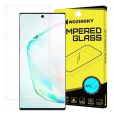 Wozinsky Tempered Glass UV screen protector 9H for Samsung Galaxy Note 10 (in-display fingerprint sensor friendly) - without glue and LED lamp (hij34) (SNT10)